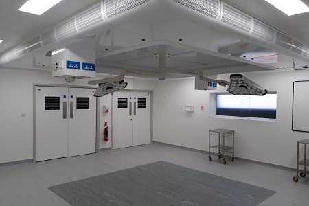 MAT carries out extensive theatre refurbishment at bedford hospital