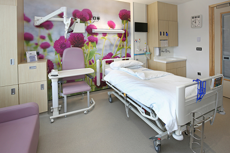 Acrovyn by Design brings art into wards at new RNOH Stanmore Building