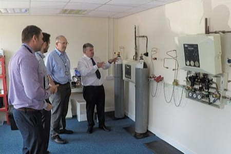 Training centre's opening fulfils engineer's ambition