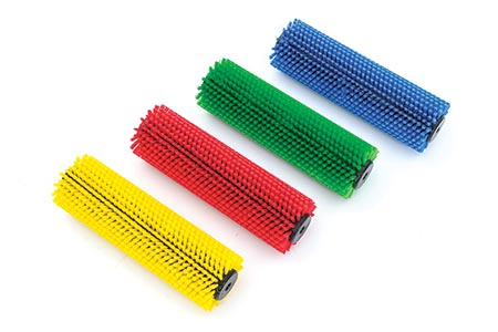 Floorcare expert's new colour-coded brushes