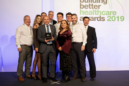MTX success at Building Better Healthcare Awards