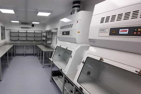 MAT delivers new CL3  laboratory for Kilmarnock hospital